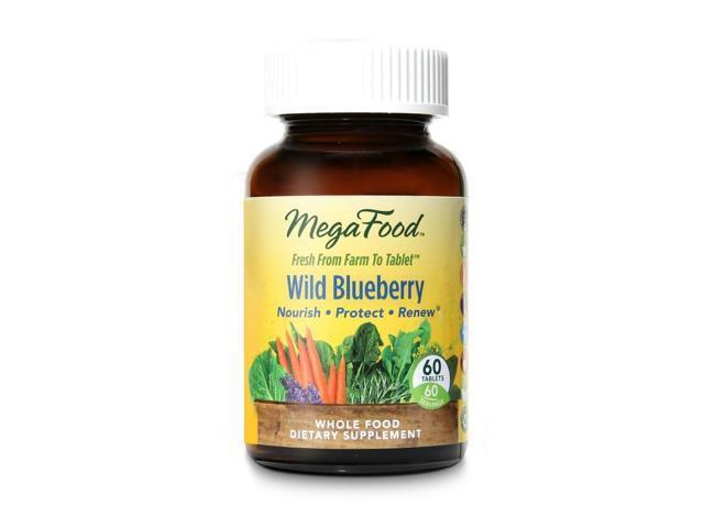 Wild Blueberry DailyFoods - Vegetarian - MegaFood - 60 - Tablet