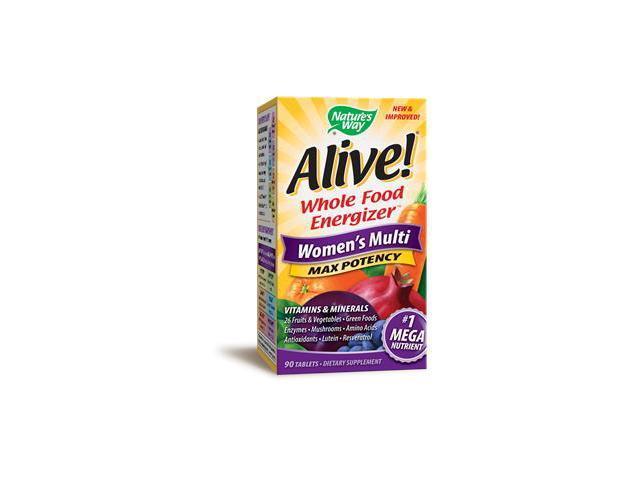 Alive Women's Multi - Nature's Way - 90 - Tablet