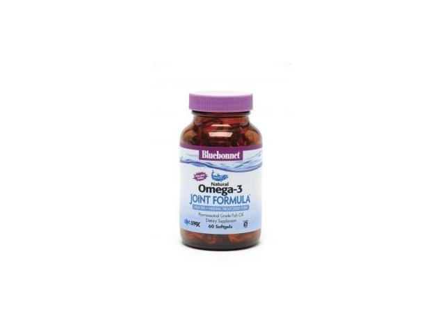 Natural Omega-3 Joint Formula - Bluebonnet - 60 - Softgel