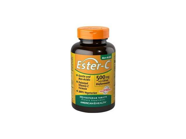 Ester-C 500 mg With Citrus Bioflavonoids - American Health Products - 225 - VegTab