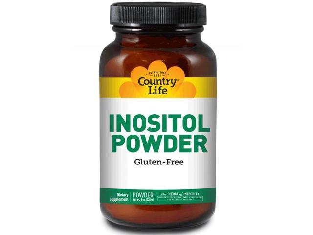 Inositol Powder - Country Life - 8 oz - Powder