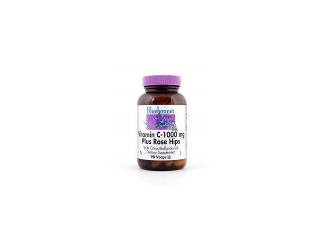 Vitamin C 1000mg Plus Rose Hips - Bluebonnet - 90 - VegCap