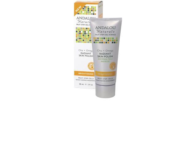 Chia + Omega Radiant Skin Polish - Andalou Naturals - 2 fl oz - Liquid