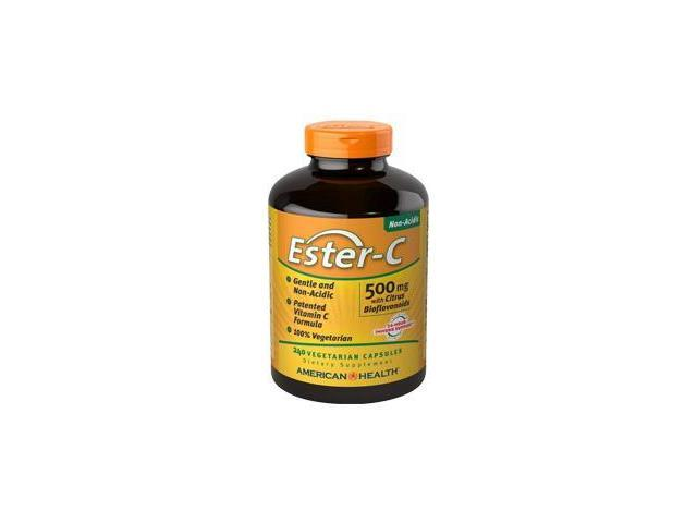Ester-C 500 mg With Citrus Bioflavonoids - American Health Products - 240 - VegCap