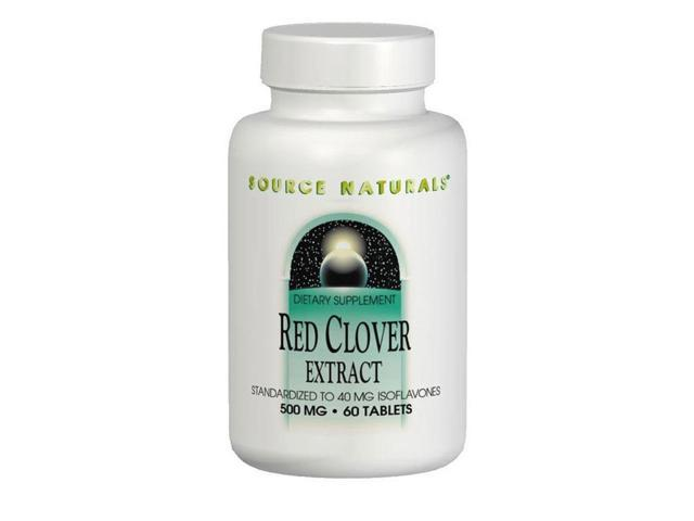 Red Clover Leaf Extract - Source Naturals, Inc. - 60 - Tablet