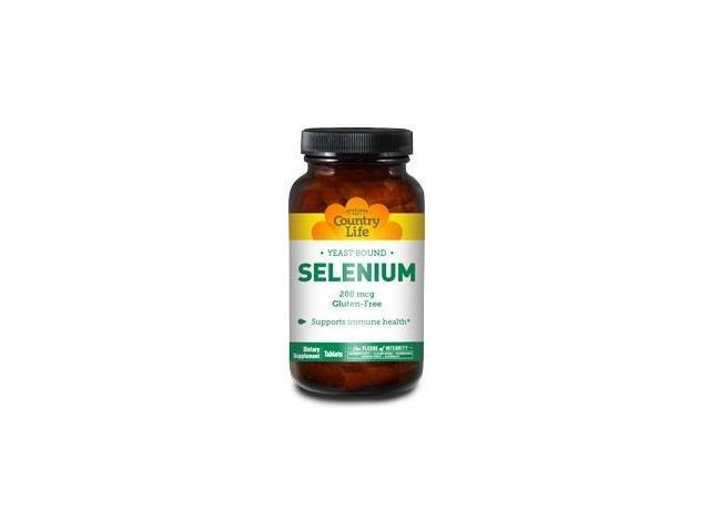 Selenium 200mcg - Country Life - 90 - Tablet