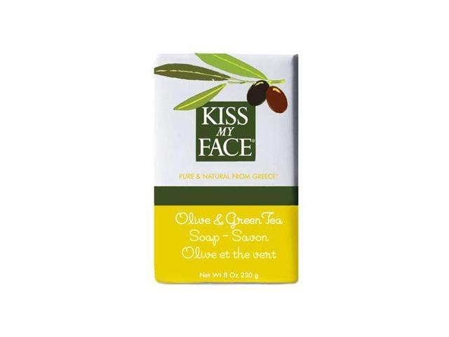 Olive and Green Tea - Kiss My Face - 8 oz - Bar Soap