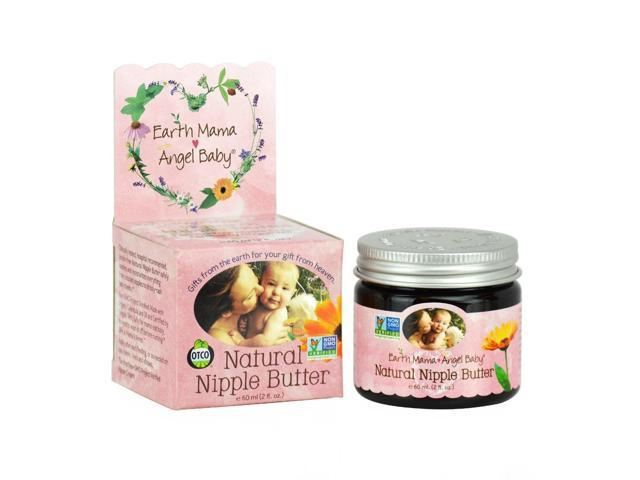 Earth Mama Angel Baby 2 Ounce Natural Nipple Butter