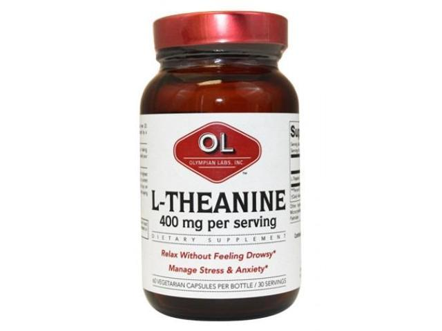 L-Theanine 200mg - Olympian Labs - 60 - Capsule