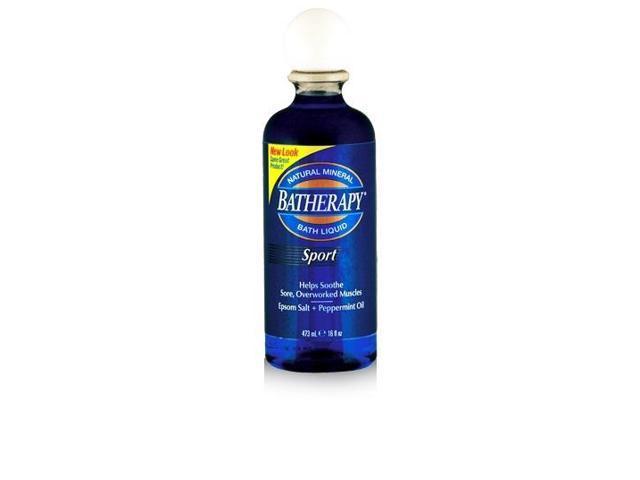 Sport Batherapy Mineral Bath Liquid - Para Labs - 16 oz - Liquid