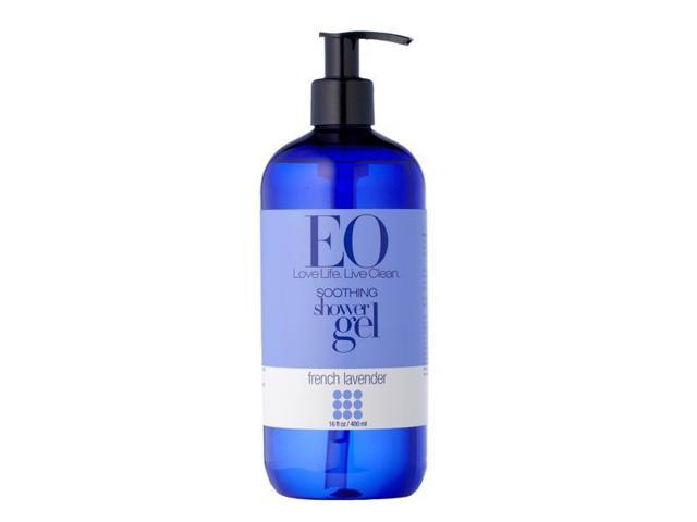 Shower Gel French Lavender - EO - 16 oz - Liquid