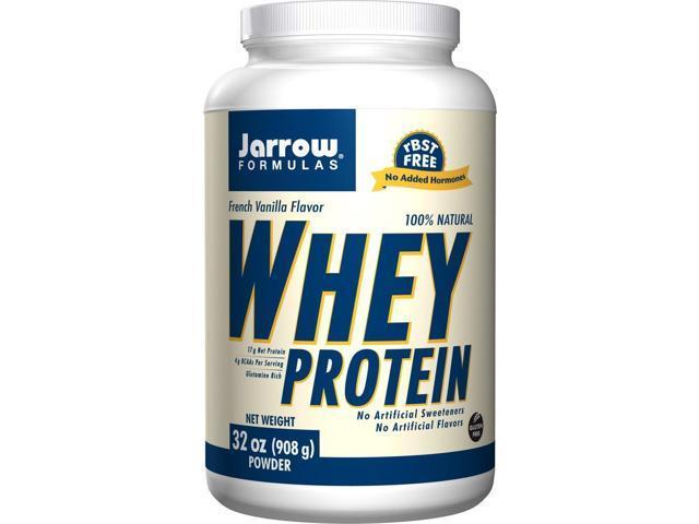 Whey Protein-Vanilla - Jarrow Formulas - 2 lbs - Powder