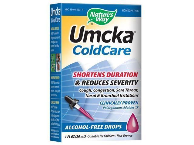 Umcka ColdCare Alcohol-Free Drops - Nature's Way - 1 oz - Liquid