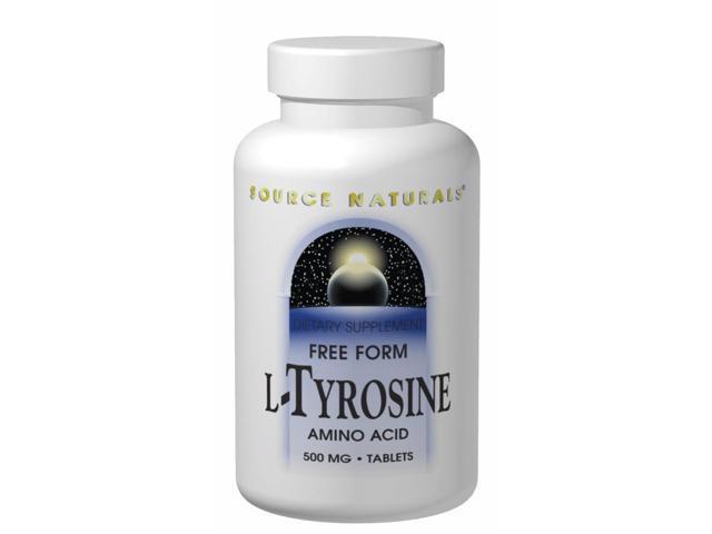 L-Tyrosine 500mg - Source Naturals, Inc. - 100 - Tablet