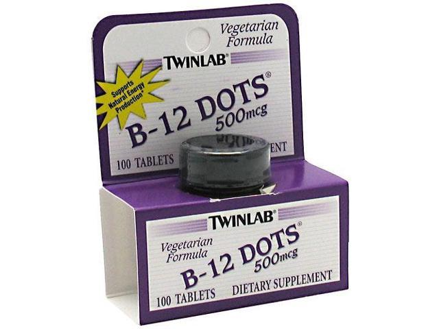 B-12 Dots Sublingual Lozenge - Twinlab, Inc - 100 - Lozenge