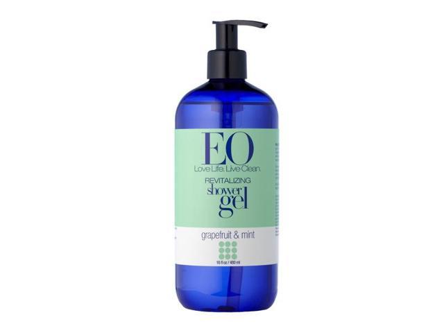 Shower Gel Grapefruit Mint - EO - 16 oz - Liquid