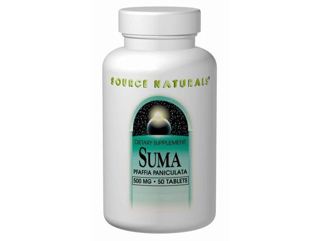 Suma from Brazil - Source Naturals, Inc. - 50 - Tablet