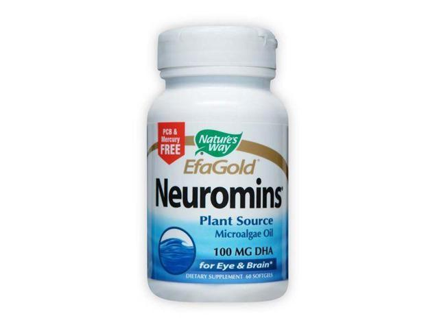 Neuromins 100mg DHA - Nature's Way - 60 - Softgel