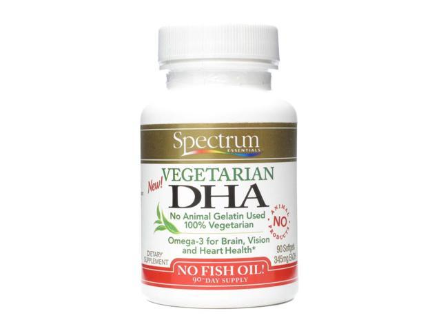 Vegetarian DHA 120mg - Spectrum Essentials - 90 - Softgel