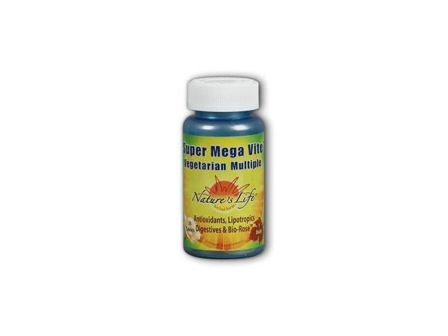 Super Mega-Vite II Multiple - Vegetarian -- Tab/Time - Nature's Life - 30 - Tablet