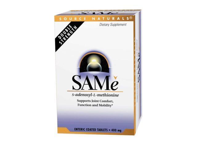 SAMe 200mg - Source Naturals, Inc. - 20 - Tablet