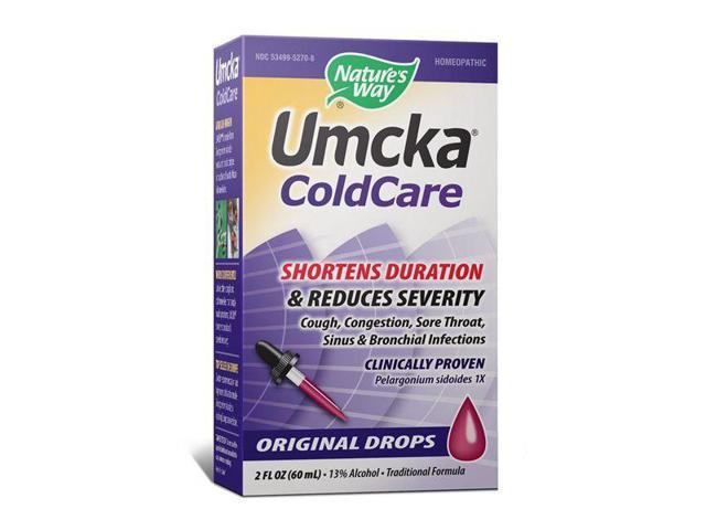 Umcka ColdCare Drops - Nature's Way - 2 oz - Liquid