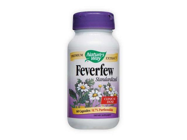 Feverfew Standardized Extract - Nature's Way - 60 - Capsule