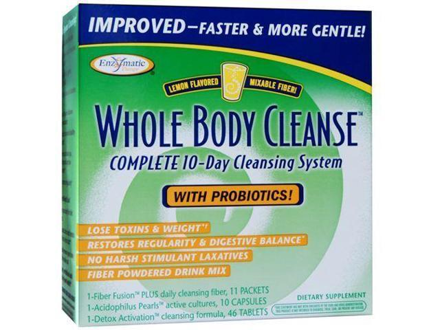 Whole Body Cleanse With Drinkable Fiber - Enzymatic Therapy Inc. - 1 - Kit