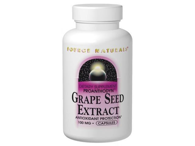 Grape Seed Extract 200mg Proanthodyn - Source Naturals, Inc. - 30 - Tablet