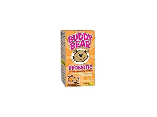 Buddy Bear Probiotic - Renew Life - 60 - Tablet