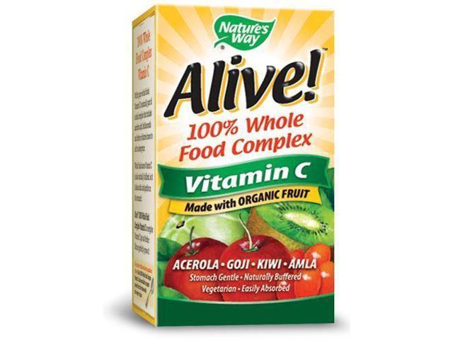Alive Organic Vitamin C - Nature's Way - 120 - VegCap