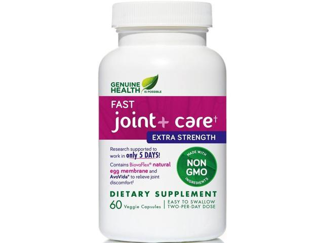 Fast Joint+ Care Extra Strength - Genuine Health - 60 - Veg Cap