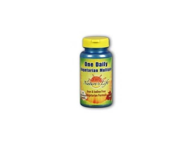 One Daily Multiple - Iron-Free - Nature's Life - 30 - Capsule