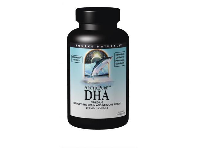 ArcticPure DHA (Strawberry) - Source Naturals, Inc. - 30 - Softgel