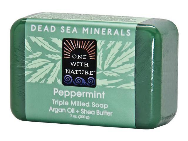 Soap Peppermint - One With Nature - 7 oz - Soap