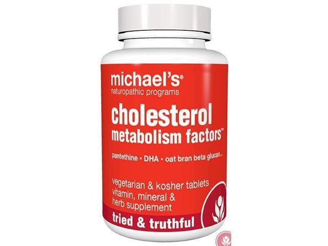 Cholesterol Metabolism Factors - Michael's Naturopathic - 90 - Tablet
