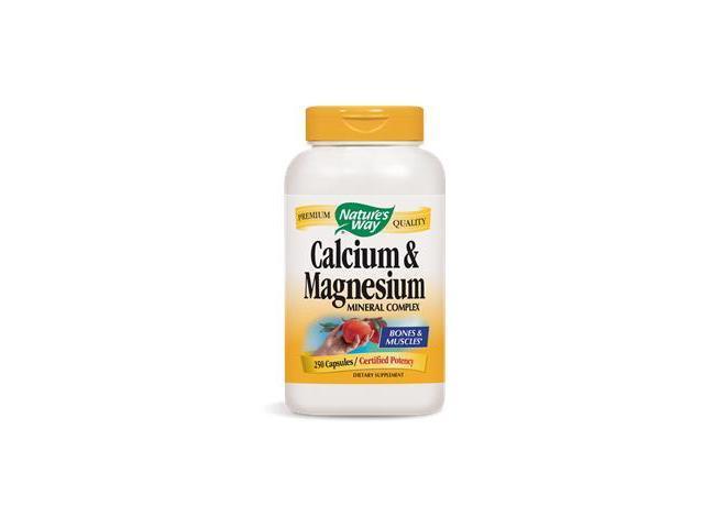 Calcium & Magnesium - Nature's Way - 250 - Capsule