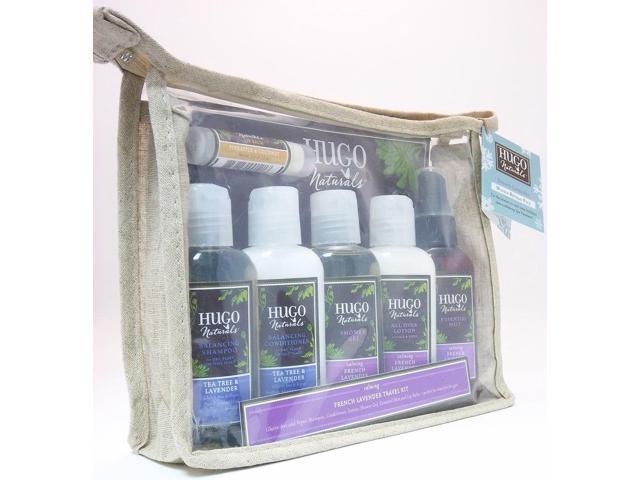 French Lavender Travel Kit - Hugo Naturals - 1 - Kit