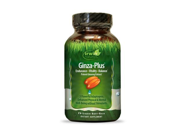 Ginza Plus - Irwin Naturals - 75 - Softgel