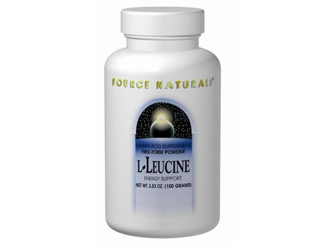 L-Leucine Powder - 3.53 oz (100 Grams) by Source Naturals
