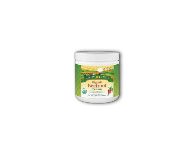 Beetroot Powder Organic -Unflavored - Sunny Green - 7.4 oz - Powder