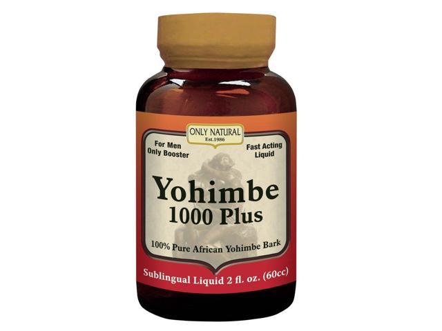Yohimbe 1000 Plus - Only Natural - 60 - Tablet