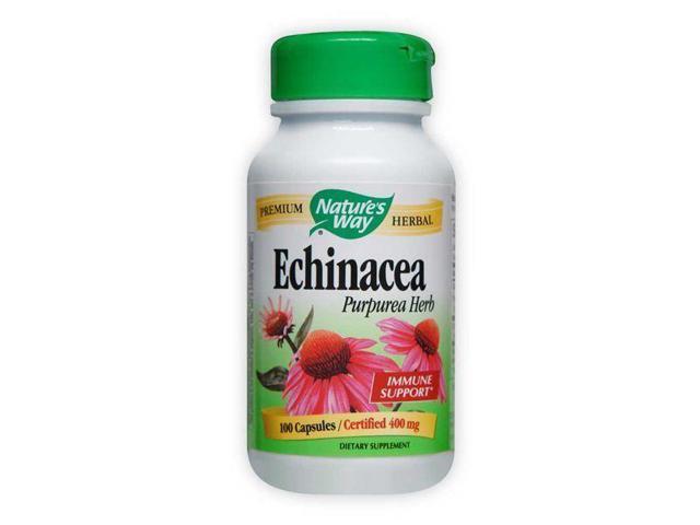 Echinacea Purpurea Herb - Nature's Way - 100 - VCaps