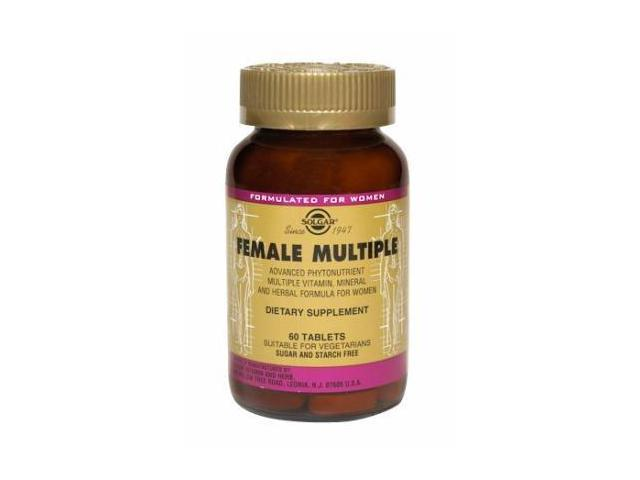 Female Multiple - Solgar - 60 - Tablet