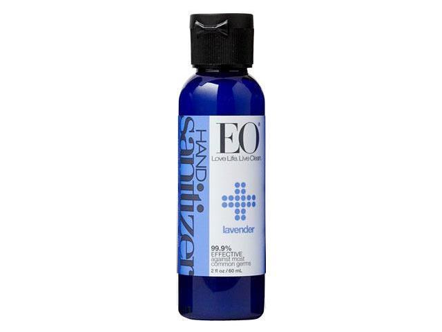 Hand Sanitizer Organic Lavender - EO - 2 oz - Gel