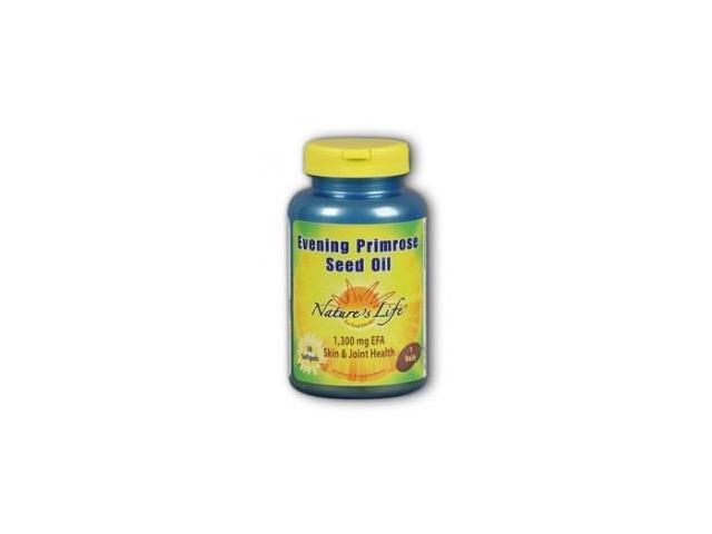 Evening Primrose Oil 1300mg - Nature's Life - 50 - Softgel