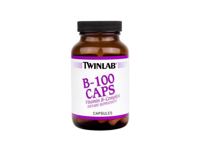 B-100 - Twinlab, Inc - 100 - Capsule