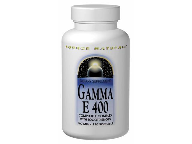 GAMMA E 400 Complex - Source Naturals, Inc. - 60 - Softgel