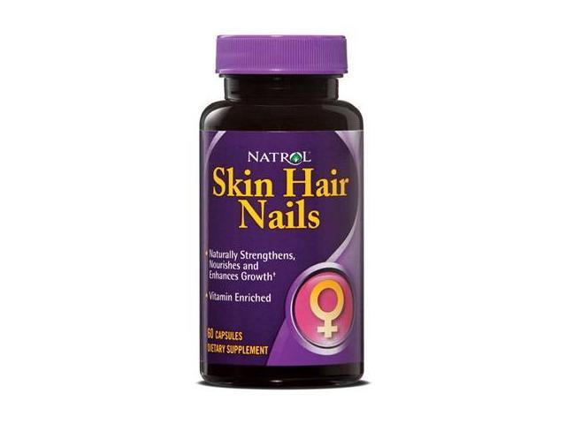 Women's Skin Hair Nails - Natrol - 60 - Capsule