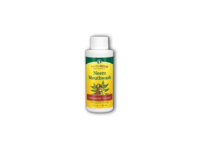 TheraNeem Mouthwash-Cinnamon Travel Size - Organix South - 2 oz - Liquid
